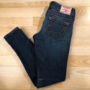 True Religion Brand Jeans Stella Skinny Low Rise